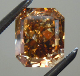 SOLD....Loose Diamond: 2.00ct Radiant Cut Fancy Dark Yellowish Brown I1 GIA Really Nice Color R3758