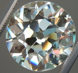 SOLD....Loose Diamond: 4.54ct L/VS2 Old Euro Cut- remarkable and Rare CANDLELIGHT GIA R3865