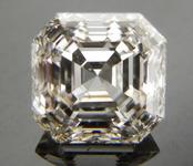 SOLD....Loose Diamond; .96ct Asscher Cut- Top light Brown, four step top R3877