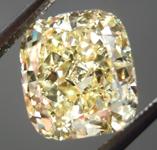 SOLD....Loose Diamond: 3.23ct Cushion Cut Fancy  Yellow VS1 GIA Massive Beauty R3958