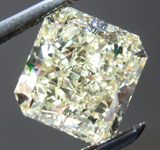SOLD....Loose Diamond: 1.77ct Radiant Cut W-X, Natural Light Yellow VS1 GIA Great Sparkle R3971