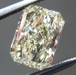 SOLD.....Loose Diamond: 1.31ct Radiant Cut W-X, Natural Light Yellow SI1 GIA Beautiful Cut R3974