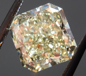 SOLD....Loose Diamond: 2.19ct Radiant Cut Fancy Light Yellow VS1 GIA Wonderful Cut R3978