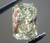 SOLD....Loose Diamond: 1.20ct Radiant Cut Natural Light Yellow VS1 Tall Beauty R4019