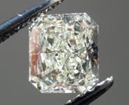 0.92ct L VS1 Radiant Cut Diamond R4011