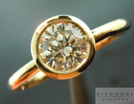 SOLD....Diamond Ring: .64ct Round Brilliant M/VS1 GIA Excellent Cut Laser Inscribed R4071