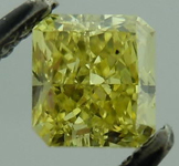 SOLD...Loose Diamond: .41ct Radiant Cut Fancy Intense Yellow VS1 GIA Beautiful Color R4149