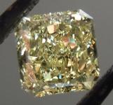 SOLD.... Loose Diamond: .43ct Radiant Cut Fancy Yellow VVS2 GIA Fantastic Cut R4144