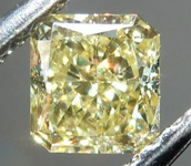 SOLD....Loose Diamond: .46ct Radiant Cut Fancy Yellow VS2 GIA Lovely Stone Great Price R4139