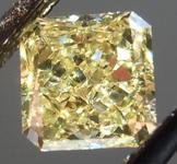 SOLD.....Loose Diamond: .51ct Radiant Cut Fancy Yellow VS2 GIA Great Cut R4164