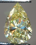 SOLD....Loose Diamond: .75ct Pear Shape Fancy Yellow VS2 GIA Full of Sparkle R4169