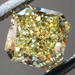 SOLD....Loose Diamond: .58ct Radiant Cut Fancy Yellow IF GIA Perfection R4173