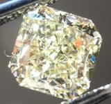 SOLD....Loose Diamond: 1.02ct Radiant Cut Fancy Light Yellow VS2 GIA Gorgeous Cut R4221