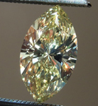 SOLD...Loose Diamond: 1.00ct Marquise Fancy Light Yellow VS2 GIA Great Cut R4213
