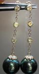South Sea Pearl and Diamond Earrings R4074