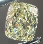 SOLD....Loose Diamond: .50ct Cushion Cut Fancy Light Yellow VS1 GIA Great Stone Special Price R4235