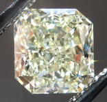 SOLD....Loose Diamond: 1.25ct W-X Natural Light Yellow Si1 Radiant GIA R4246