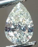 SOLD....Loose Diamond: .76ct Pear Shape M/SI2 GIA Full of Sparkle Laser Inscribed R4262