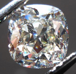 SOLD....Loose Diamond: 1.14ct Antique Style Cushion L/SI2 GIA Eye Clean R4291