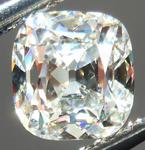 SOLD....Loose Diamond: 1.01ct Antique Style Cushion - Modern Precision I/VS2 GIA R4290