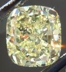 SOLD.....Loose Diamond: 1.14ct Cushion Cut Fancy Yellow VS1 NOW OFFERED N A RING R4402