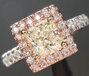 0.78ct L VVS2 Princess Cut Diamond Ring R4430
