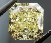 SOLD.....Loose Yellow Diamond: 3.18ct Fancy Yellow VVS2 Radant LARGE Sparkle GIA R4313