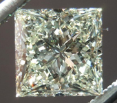 SOLD.... Loose Diamond: 1.21ct Princess Cut S-T SI1 GIA Full of Sparkle R4467