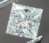 SOLD.....Princess Cut Diamond: .58ct J/SI2 Princess Cut GIA Laser Inscribed Eye Clean R4483