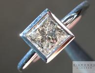 SOLD...0.78ct J I1 Princess Cut Diamond Ring R4484