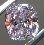 SOLD.....Pink-Purple Diamond: .73ct Fancy Pink-Purple SI2 Cushion Cut GIA Rare Beauty R4540