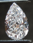 SOLD....Pear Shape Diamond: .80ct D/I1 Pear Shape GIA Great Value Beautiful Cut R4485