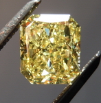 SOLD....Intense Yellow Diamond: 1.00 I1 Value great cut Radiant Diamond GIA R4571
