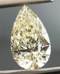 SOLD.... Loose Yellow Diamond: 1.02ct Q-R VVS1 Pear Shape GIA  R4628