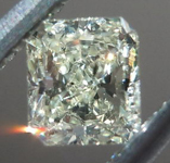 SOLD....Yellow Radiant Cut Diamond: .26ct Y-Z, Natural Light Yellow I1 Radiant Cut Great Value R4646