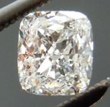 SOLD....Colorless Diamond: .52ct D/VS1 Cushion Cut GIA Tremendous Sparkle Laser Inscribed R4691