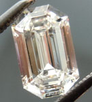 SOLD....Colorless Diamond: .86ct E/VVS2 Emerald Cut GIA Cool Cut Laser Inscribed R4707