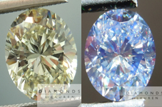 SOLD......Oval Diamond: 1.52ct M/VS1 Oval Shape GIA Very Strong Blue Fluorescence R4748