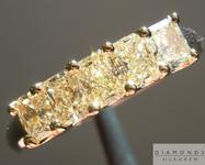 SOLD....92ctw Light Yellow VS1 Radiant Cut Diamond Ring R3768