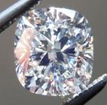 SOLD....Loose Cushion Cut Diamond: 1.01ct L/VS2 Cushion Cut GIA Great Cut Laser Inscribed R4705