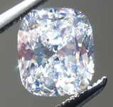 SOLD....Cushion Cut Diamond: 1.03ct J/VS2 Cushion Cut GIA Strong Blue Fluorescence R4808