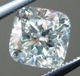 SOLD....Loose Cushion Cut Diamond: 1.02ct J/VS1 Cushion Cut GIA Fantastic Sparkle R4806
