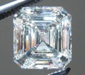 SOLD....Loose Colorless Diamond: 1.08ct I/SI1 Asscher Cut GIA Fantastic Cut R4815