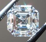 SOLD....Loose Colorless Diamond: 1.00ct G/VVS2 Asscher Cut GIA Lovely Steps R4814