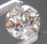 SOLD....Loose Brown Diamond: .32ct M-Light Brown VS2 Old European Cut Wacky Cool Stone R4459