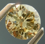 SOLD...Loose Brown Diamond: .63ct Fancy Light Brownish Yellow SI2 Round Brilliant R4832