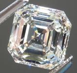 SOLD....Loose Colorless Diamond: 1.93ct K/SI2 Asscher Cut Fantastic Cut R4863