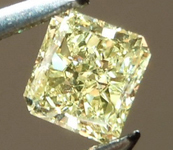 SOLD.....Loose Yellow Diamond: .35ct Fancy Yellow SI2 Radiant Cut GIA Amazing Sparkle R4895