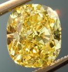 SOLD.....Loose Yellow Diamond: 1.50ct Fancy Intense Yellow I1 Cushion Cut GIA Eye Clean R4864