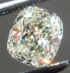 SOLD...Loose Cushion Cut Diamond: .92ct L VS2 Cushion Cut GIA Lovely Color R4922